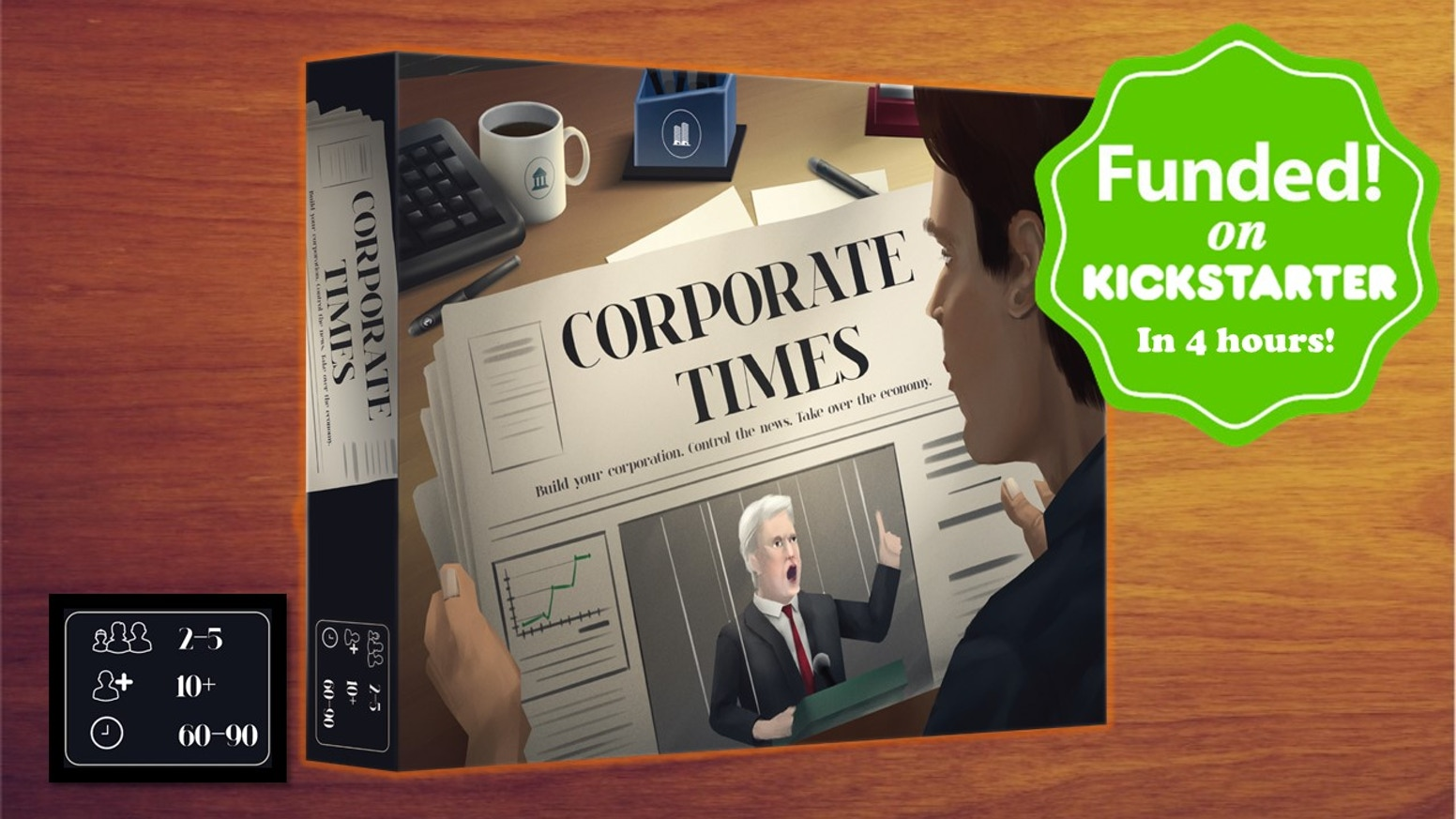Corporate Times – a financially strategic game that shows the business world in a new light.