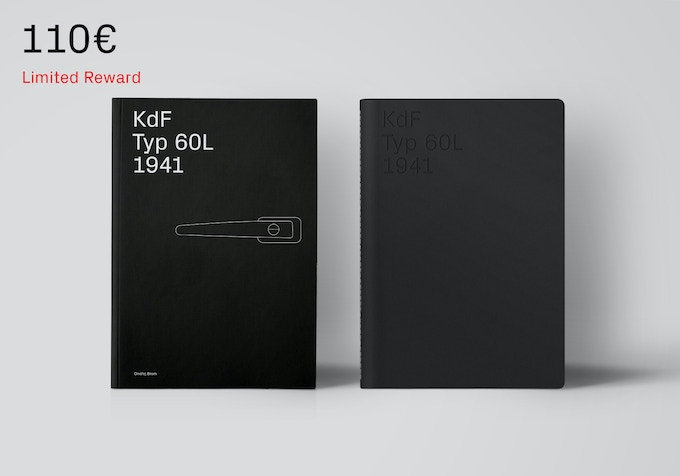 First edition book and the notepad. [110€ + Shipping]