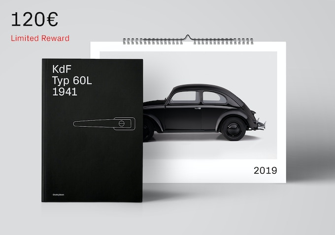 First edition book and the calendar. [120€ + Shipping]