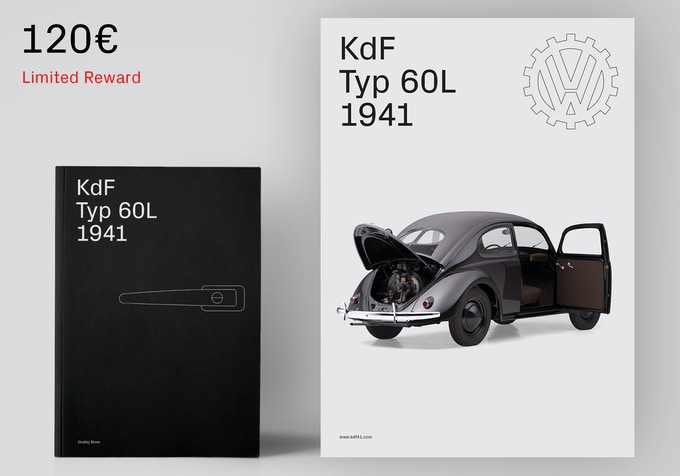 First edition book and the poster. [120€ + Shipping]
