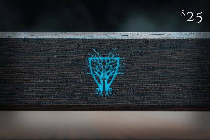 Turquoise Inlay available on Wenge Dice Vault