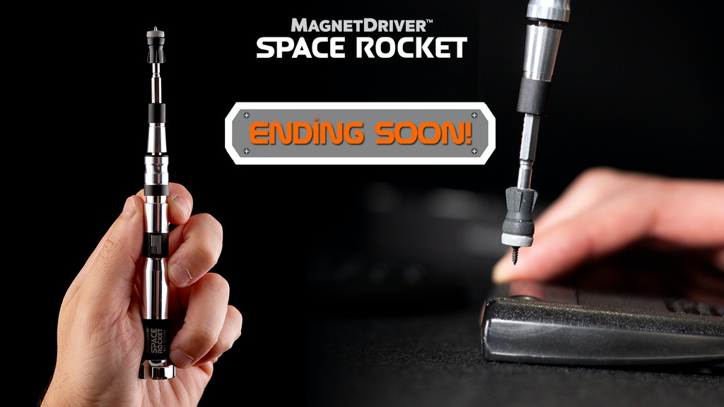 Magnet Driver™ Space Rocket: a huge upgrade for tiny screws project video thumbnail
