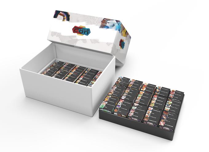 3d mockup - box design not final