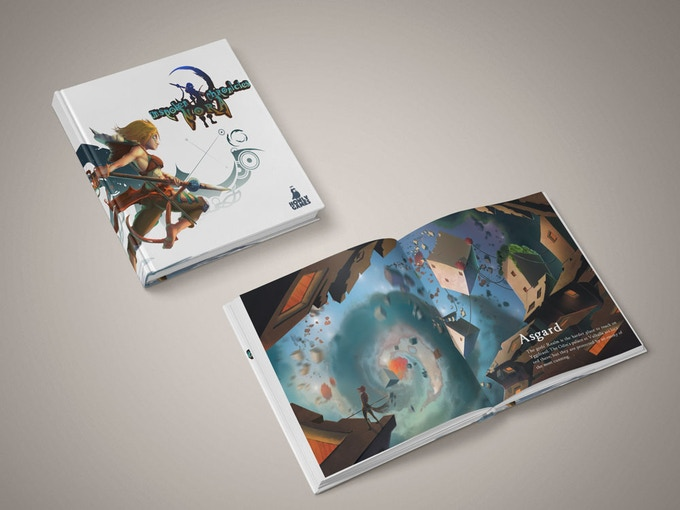 Printed artbook (30 pages)