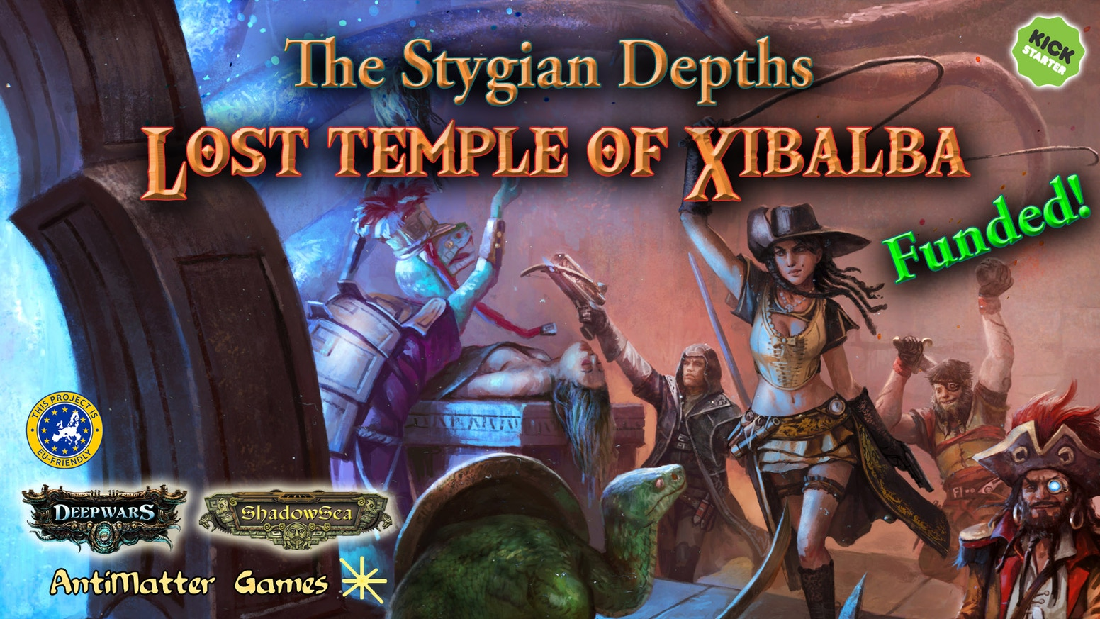 The Stygian Depths - Lost Temple of Xibalba by AntiMatter Games