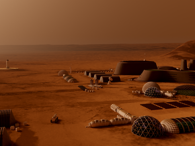 Together we can build a future Made of Mars!