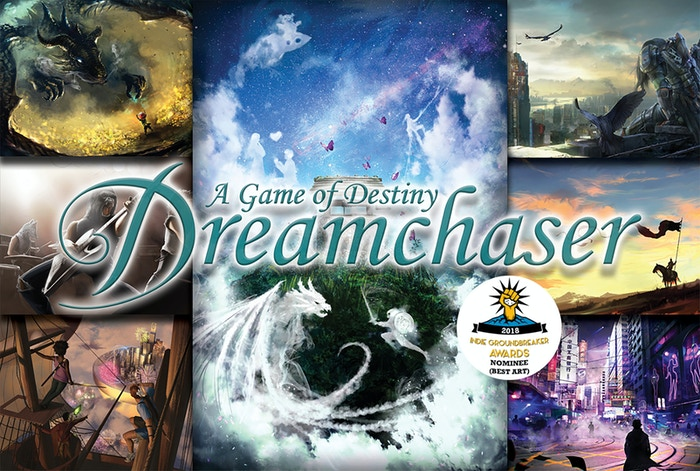 Nominated for a 2018 Indie Groundbreaker Award! Dreamchaser adapts to you... Let Dreamchaser help you zero in on the interests of the players at your table. Help them build a story that is uniquely their own!