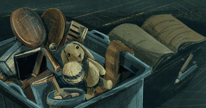 Animation art from JENNIFER, 42