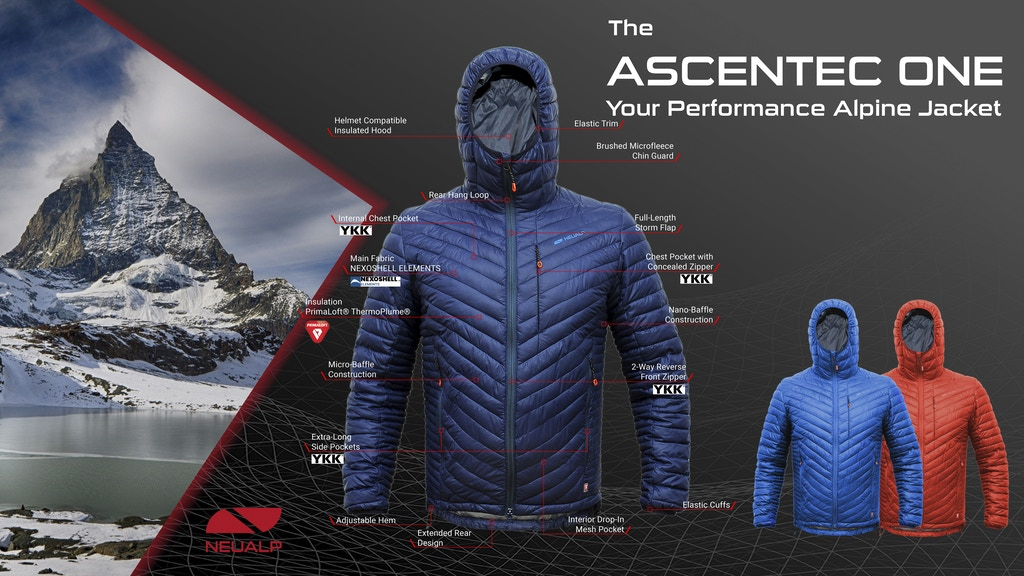 THE ASCENTEC ONE - YOUR PERFORMANCE ALPINE JACKET