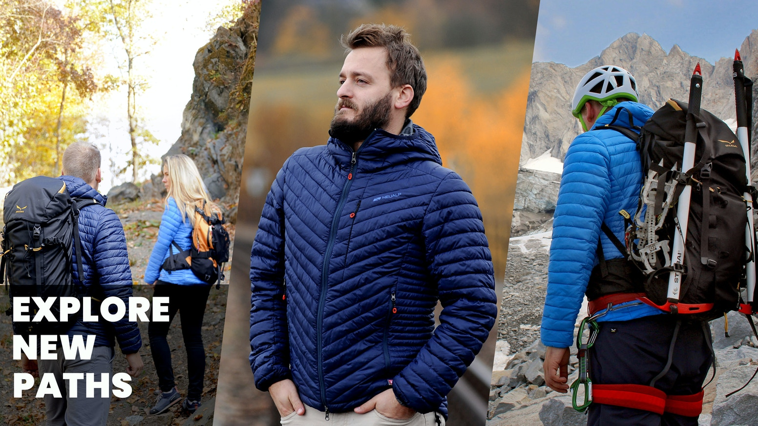 Performance & Quality in every detail. Lightweight, durable, functional. For use in all weathers and seasons with the best insulation.