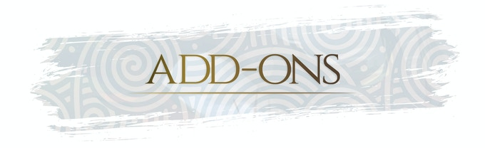 Do you want to select some add-ons and don't know how to do it? Read the FAQs section!