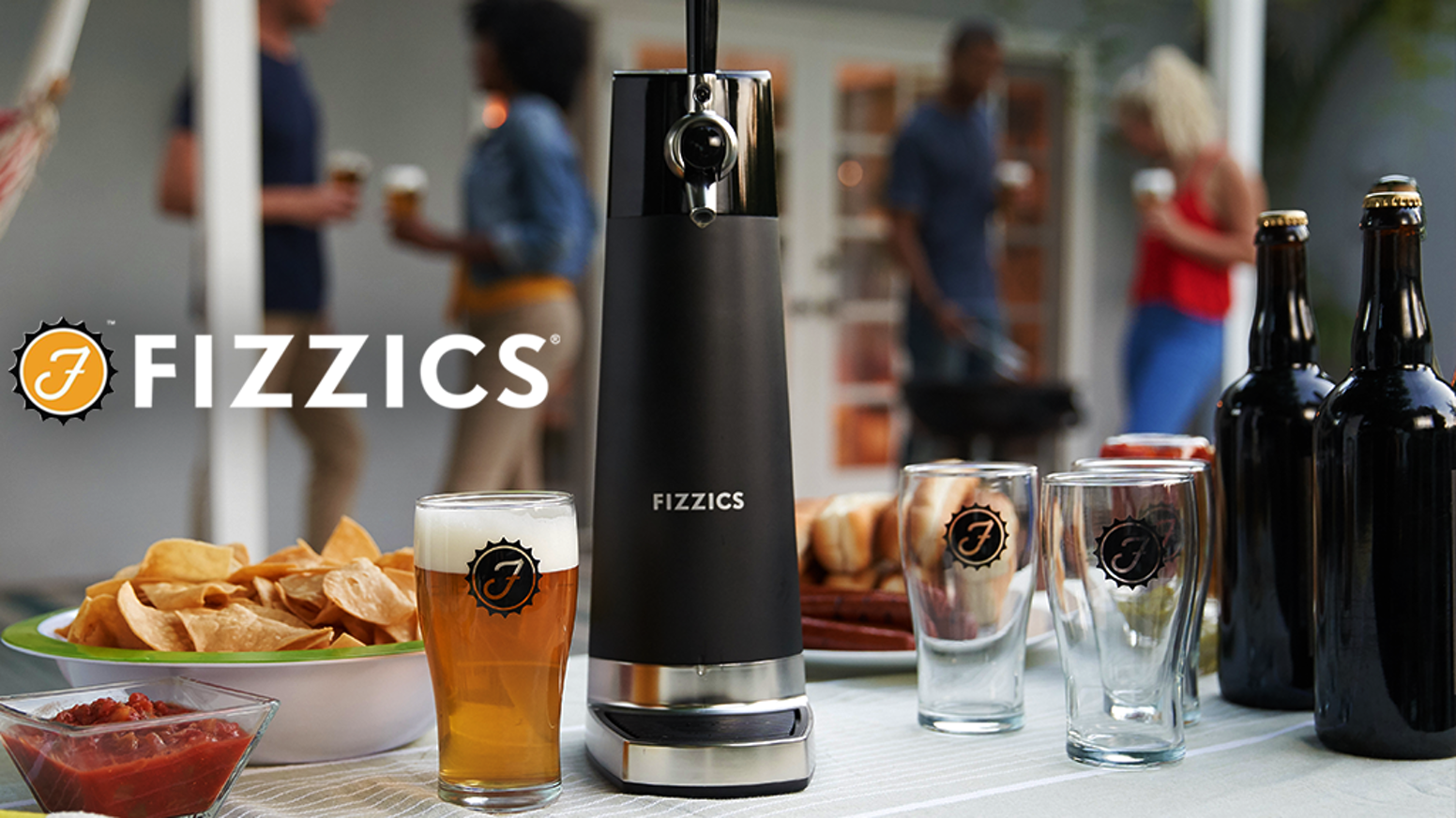 Fizzics DraftPour converts your favorite beer into a smooth and creamy nitro-style pour that blows draft away.