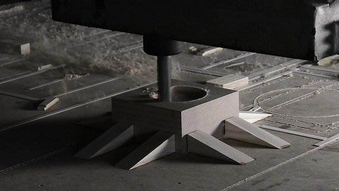 Constructed by CNC technique, with the high standard of precision
