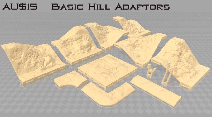 """This set requires a 1"""" Hill and a 2"""" Hill Set"""