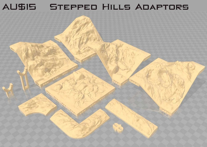 "This set requires a 1"" Hill and a 2"" Hill Set"
