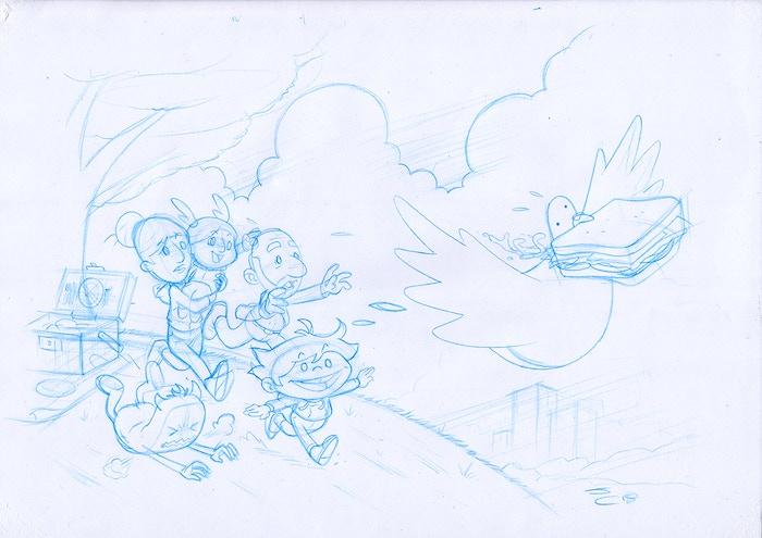 Sketch Work in Progress by John Cullen