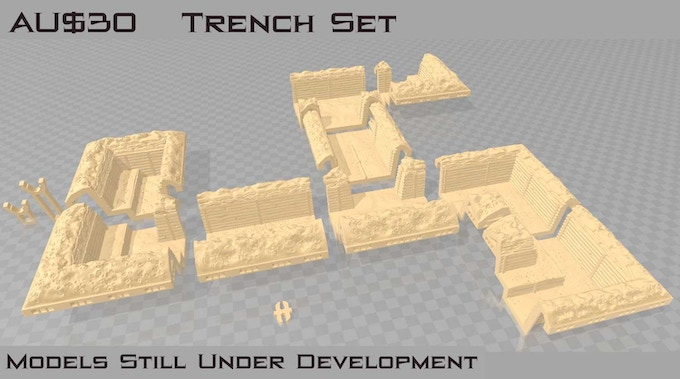 This set requires any Hill or Cliff Set