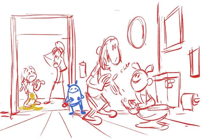 Sketch Work in Progress by Ryan Kramer