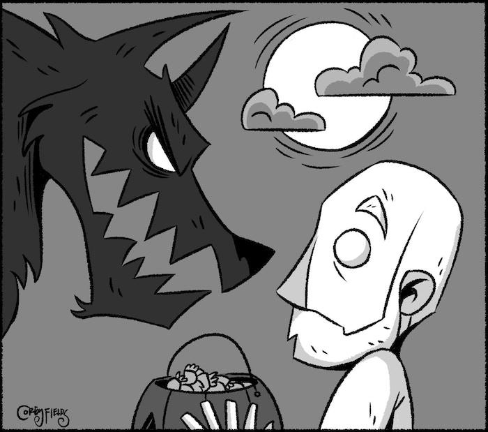 Art by Corey Fields of Werewolf & LORE