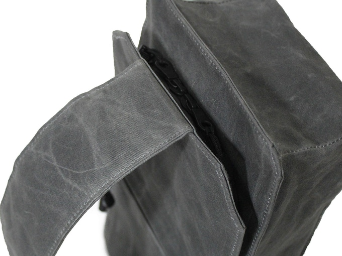 Waterproof zippers!