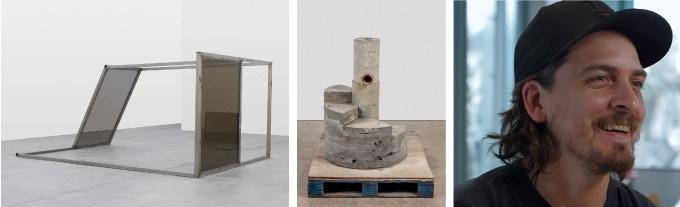 Windows, Walls, 2017; TBT, 2017; Oscar Tuazon