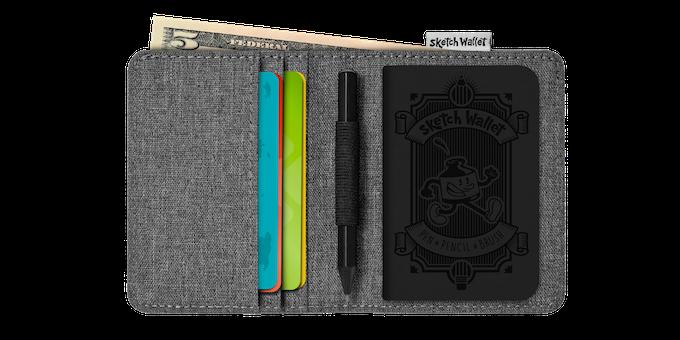 Sketch Wallets Medium And Small By Ralph Thomas Kickstarter