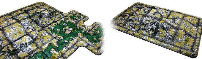 Future Worlds: Landscapes - modular war game terrain by Nick