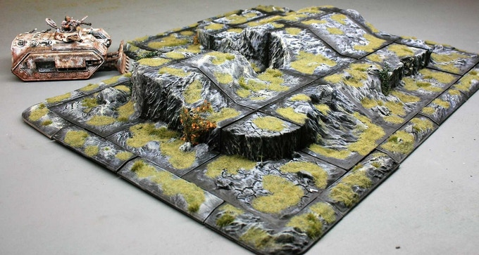 Mix and match your sets to create unique terrain.