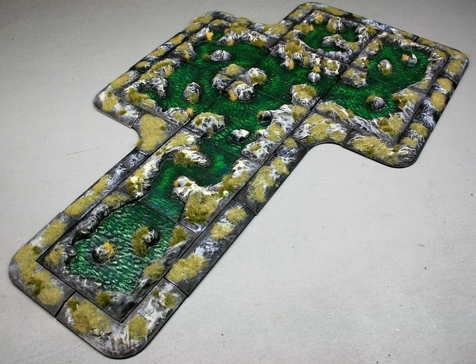 Want some difficult terrain?  Why not make a swamp?