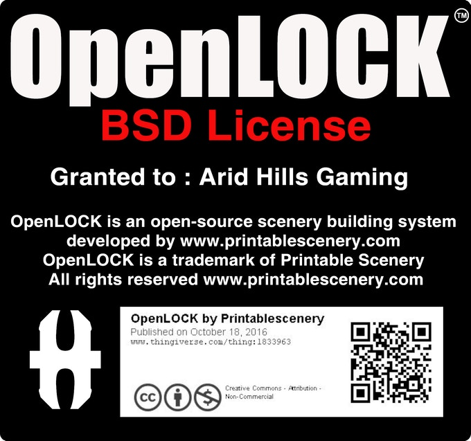 Arid Hills Gaming is proud to be a commercial licence holder for the OpenLOCK system.