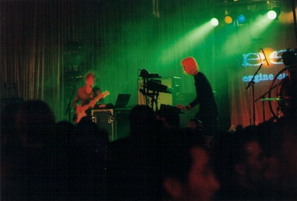 Engine Ear's laptop powered live show at The Palladium in 1998. #trendsetters
