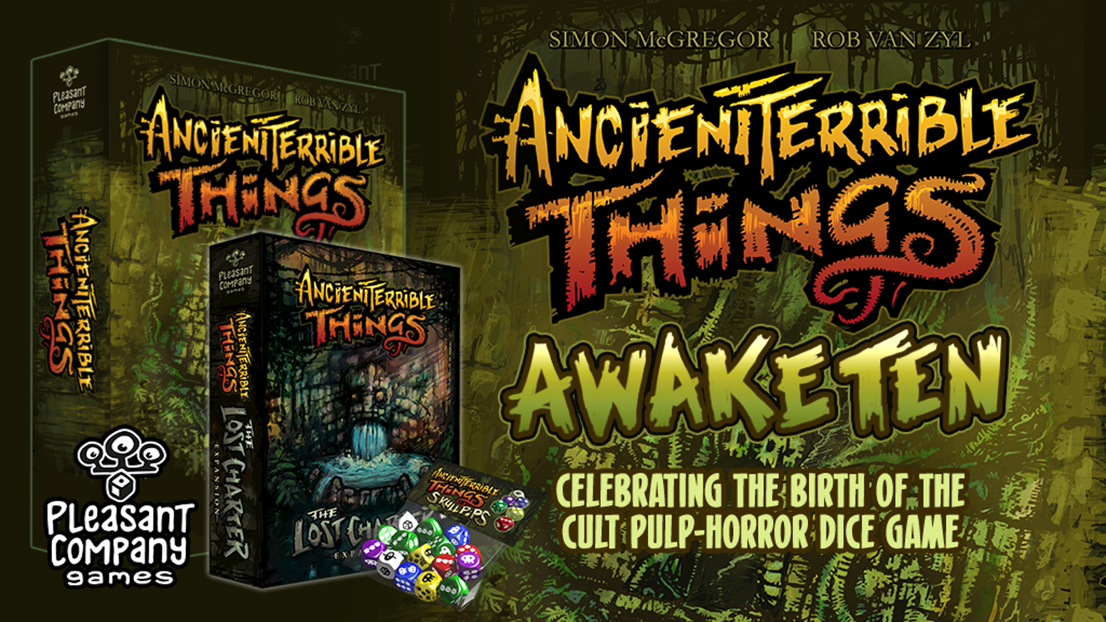 Celebrating 10 years since the conception of the pulp-horror tabletop game.