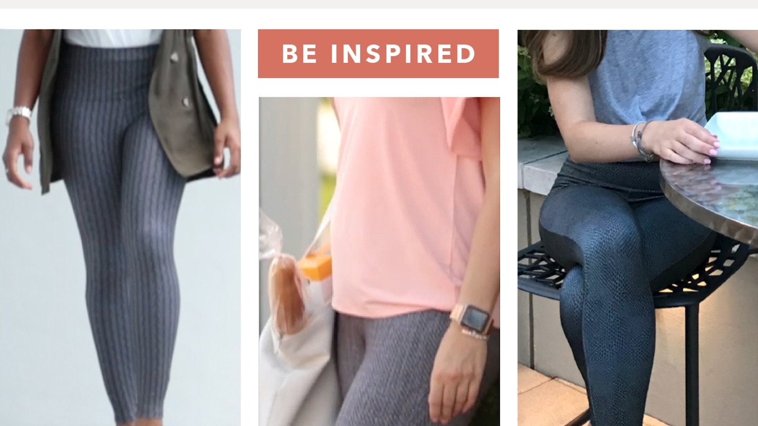 Versatile leggings with unique prints, hidden inspirational words, sustainable fabric and a commitment to support learning disabilities