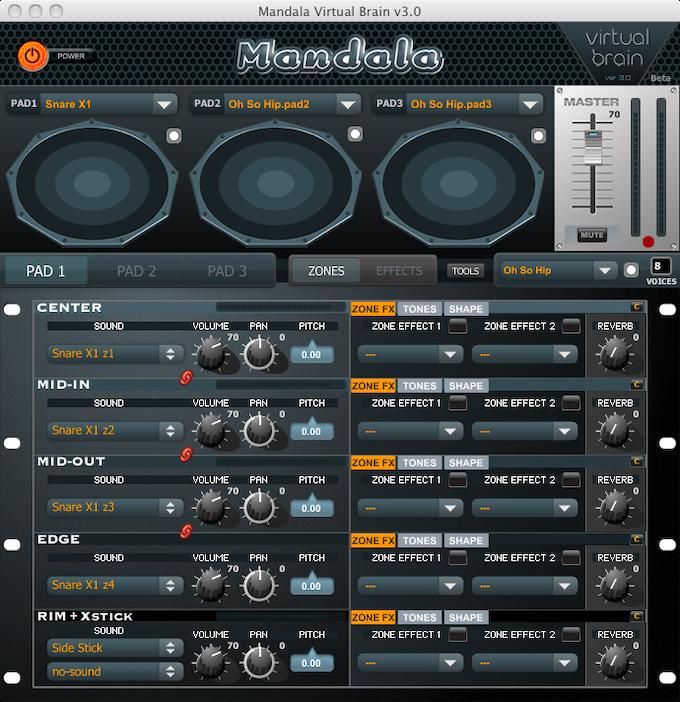 v3.0 of the Mandala Brain GUI