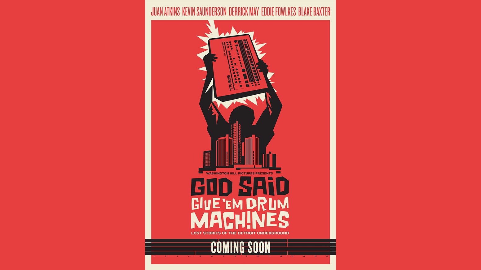 55e4414b God Said Give 'Em Drum Machines: The Story of Detroit Techno by ...