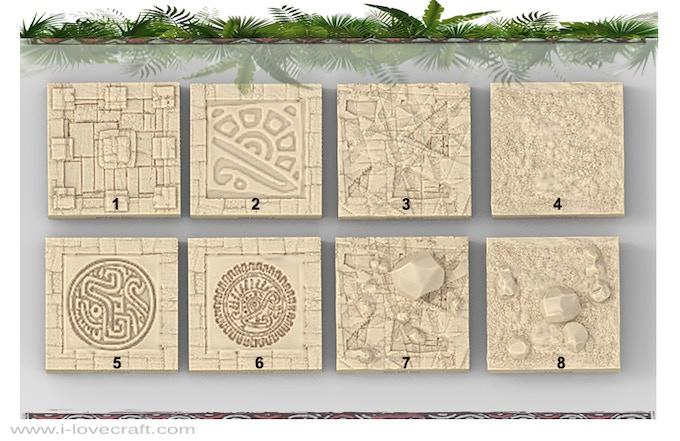 Mayan Floor Tiles