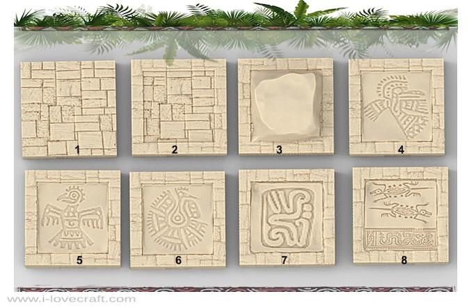 Additional Mayan Floor Tiles