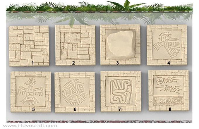Additional Mayan Floor Tiles