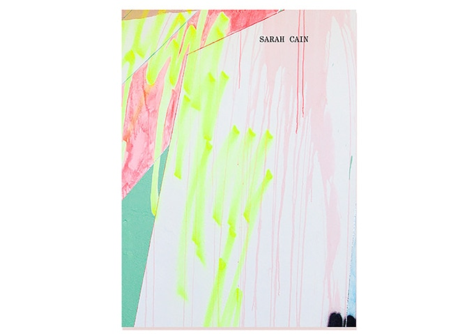 Sarah Cain, Softcover Book, 183 pages full color
