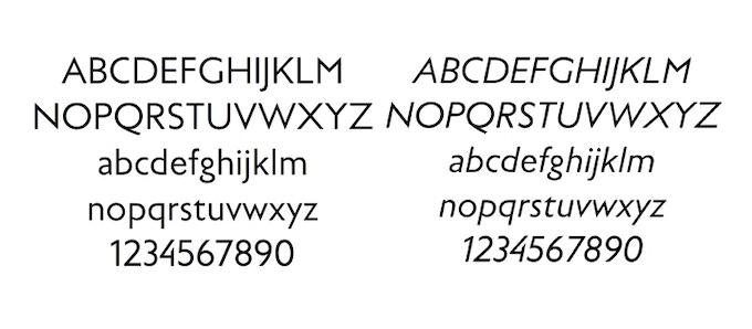 Raddar Font — design Julien Mercier