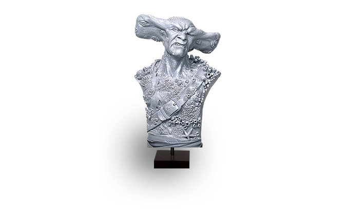 Hammerhead Pirate Bust