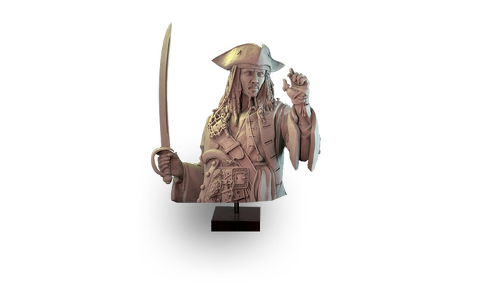 1/14 Bust of the Compass Captain from Midgard Realm