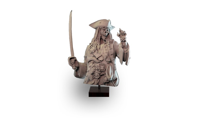 Compass Captain (Realm of Heimr) Bust