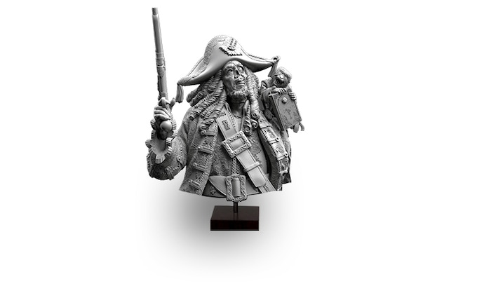 Pearl Captain (Realm of Heimr) Bust