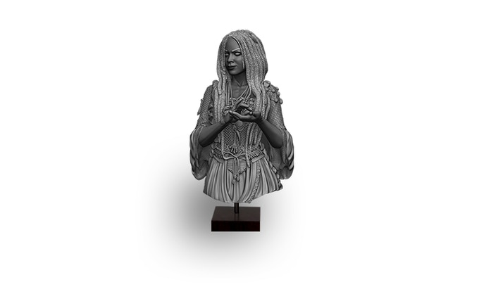 The Voodoo Enchantress Bust