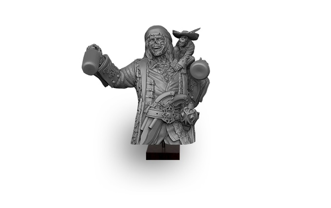 Compass Captain' Drunken Brother (Realm of Heimr) Bust