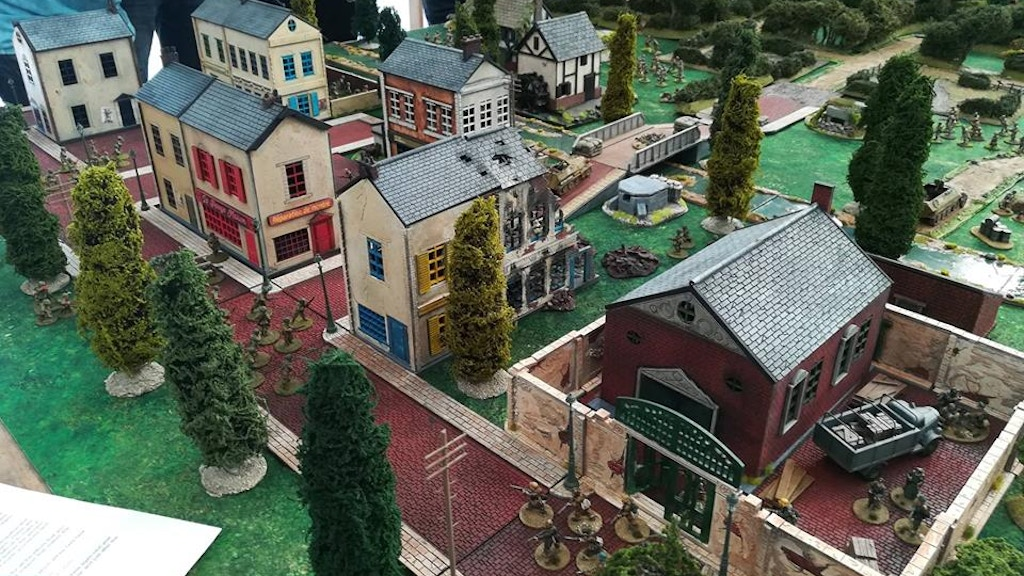 Ministry of Buildings - 28mm and 15mm Wargames Terrain by