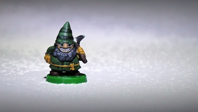 Painted miniature and photo by chuck@melchiorgiftdesign.com