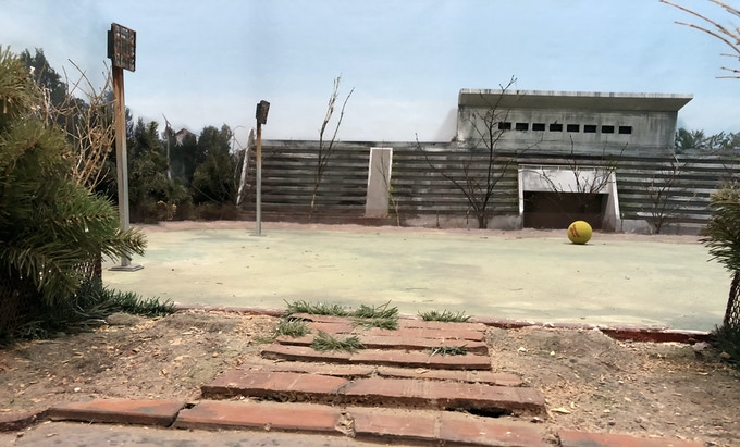 City stadium. Here you can play ball.