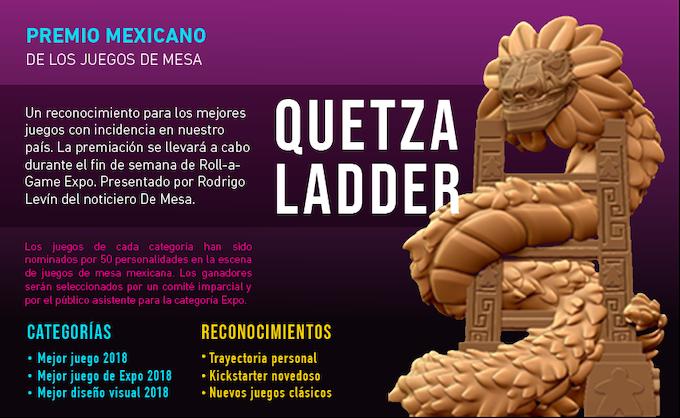 Quetzaladder Award 2018 Roll A Game Expo By La Caravana Gamelab